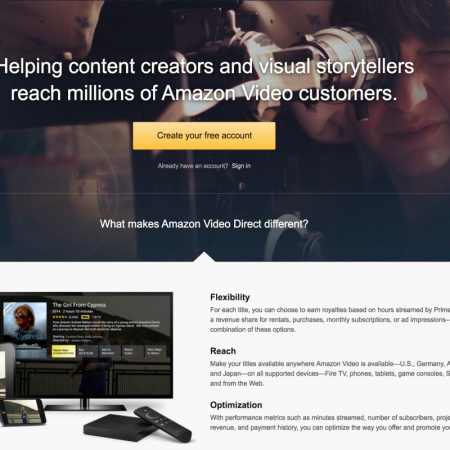 Get Your Videos On Amazon Prime